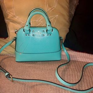 Turquoise brand new Kate Spade cross body.